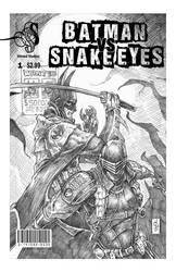 Batman VS Snake-Eyes 01 by QuestingRaven