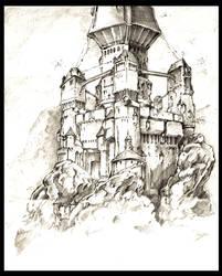 CrossRoads: Castle Raza by QuestingRaven