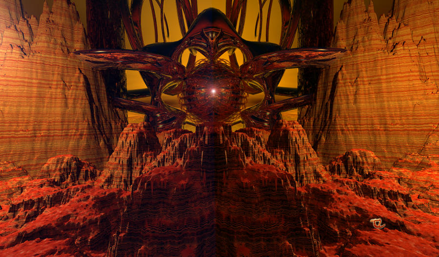 Martian Gateway by Ocalapoolguy
