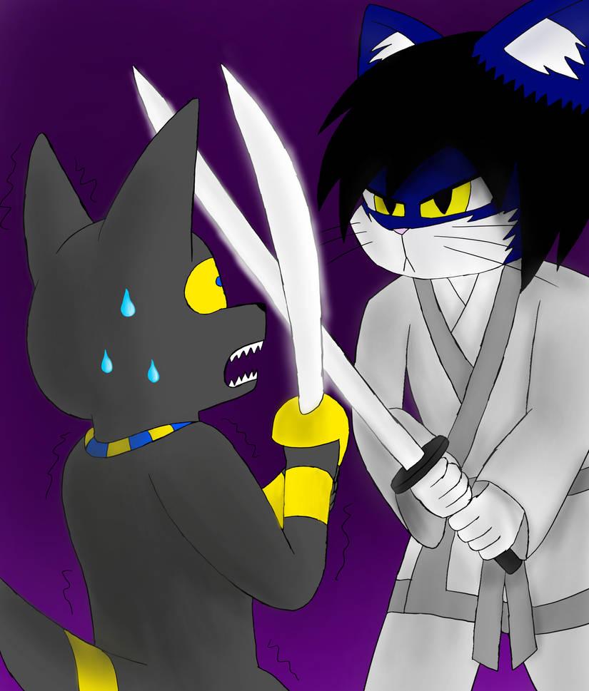 Jack the Jackal Vs Senso Kagenokami (Crossover)