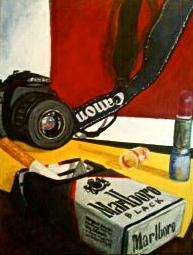 Still life by Malarkys-Canvas