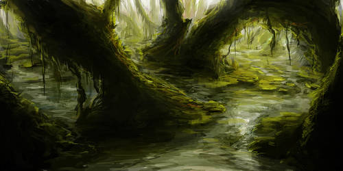 SPEEDPAINT - Swamp