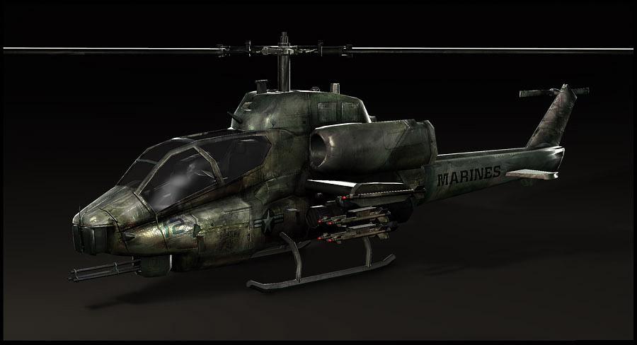 Bell AH-1 SuperCobra by tgw-Raptor