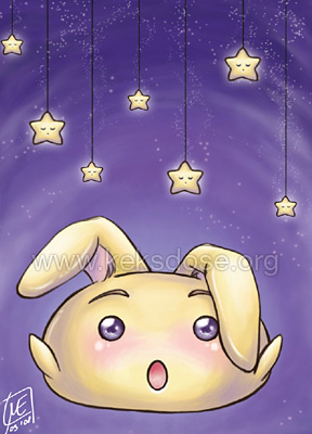 ACEO CatchingTheSleepingStars by yumkeks