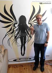 Commission - Silouette Wall Art by yumkeks