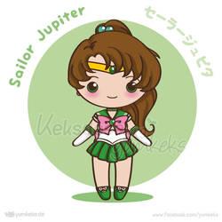 Sailor Jupiter - Vector Chibi by yumkeks