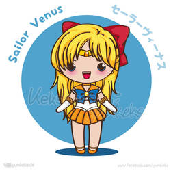 Sailor Venus - Vector Chibi