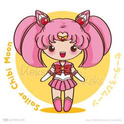 Sailor Chibi Moon - Vector Chibi by yumkeks