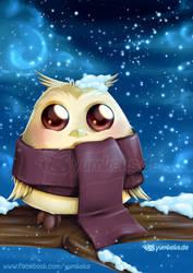 Winter Owl by yumkeks