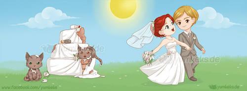 Wedding Card by yumkeks