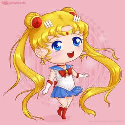 Sailor Moon Chibi by yumkeks