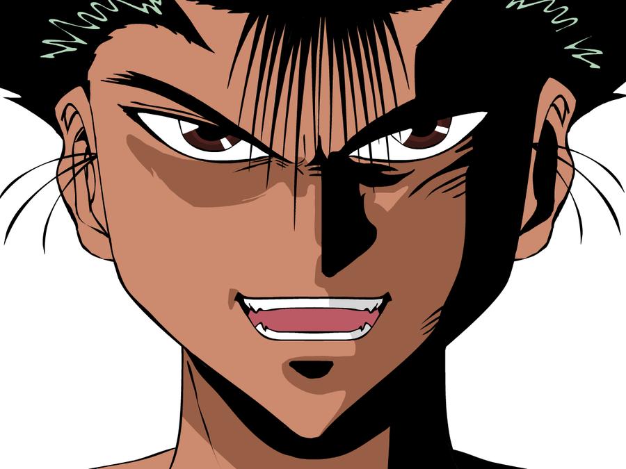 Yusuke Urameshi Demon by vegitapion on DeviantArt