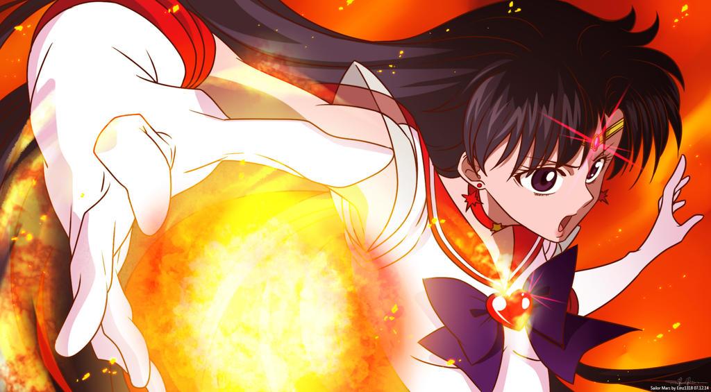 SMC: Super Sailor Mars by Ernz1318