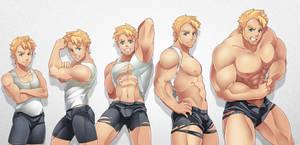 Commission: Body Morph 01