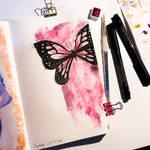 Watercolour Buttefly