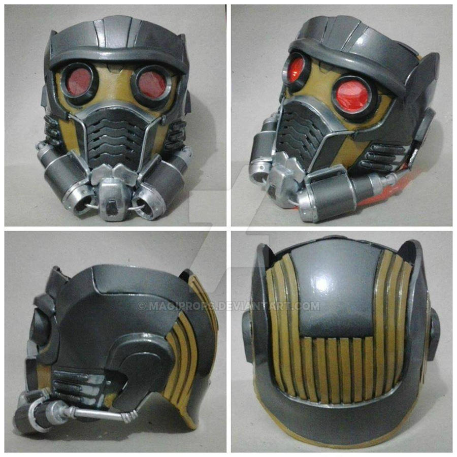 Star Lord Mask By Magiprops On Deviantart