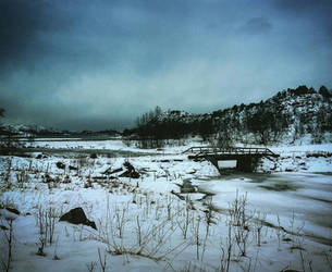 Bridge over troubled ice by tonemalina