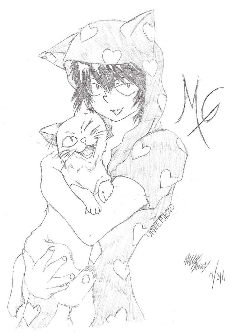 Urabe Mikoto 'Urabe and Neko'