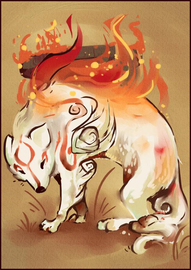 Amaterasu by chirpeax