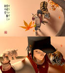 Spear Guy and Tiger: 3D