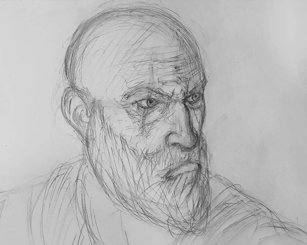 Dad of Boy - Kratos Sketch