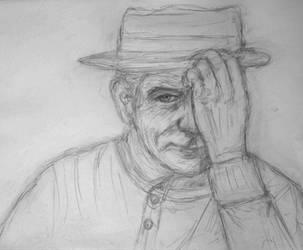 Heisenberg Sketch by josdavi94