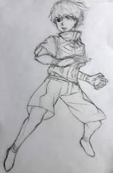 Ken Kaneki Sketch by josdavi94