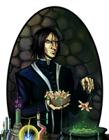 Professor Snape by Dreambeing