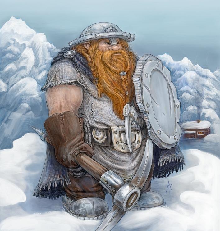 dwarf by napluvayka