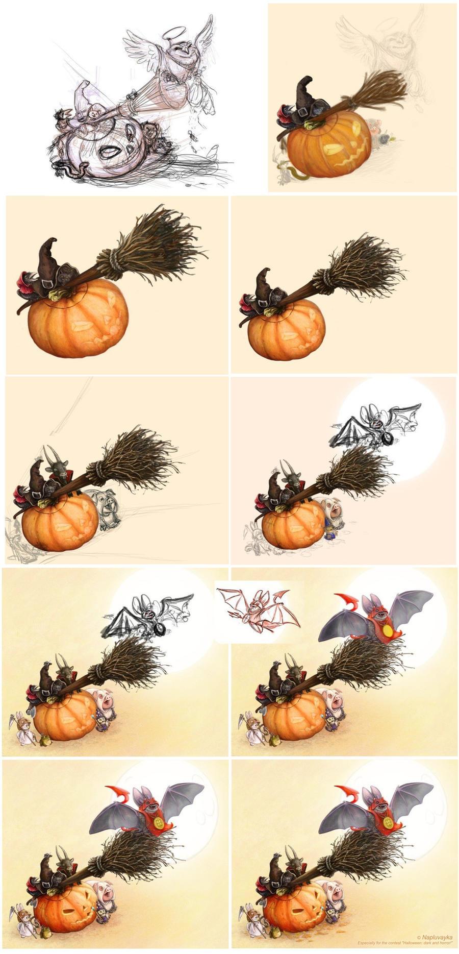 halloween (phase) by napluvayka