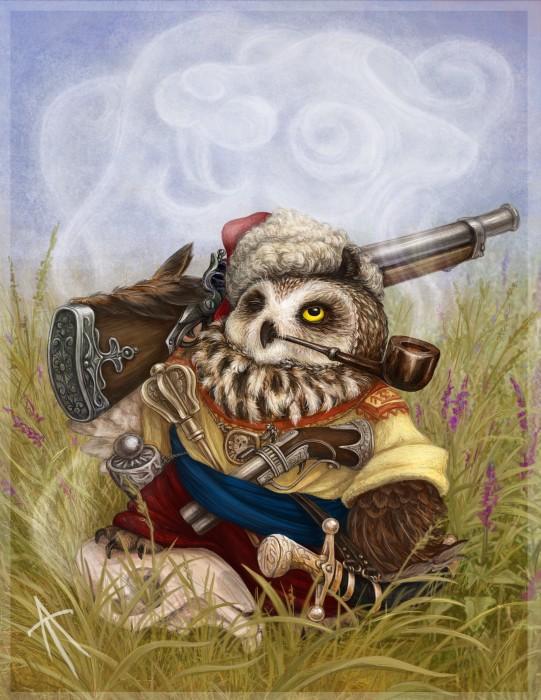 Owl Harakternik by napluvayka