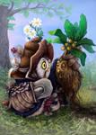 Owl herbalist