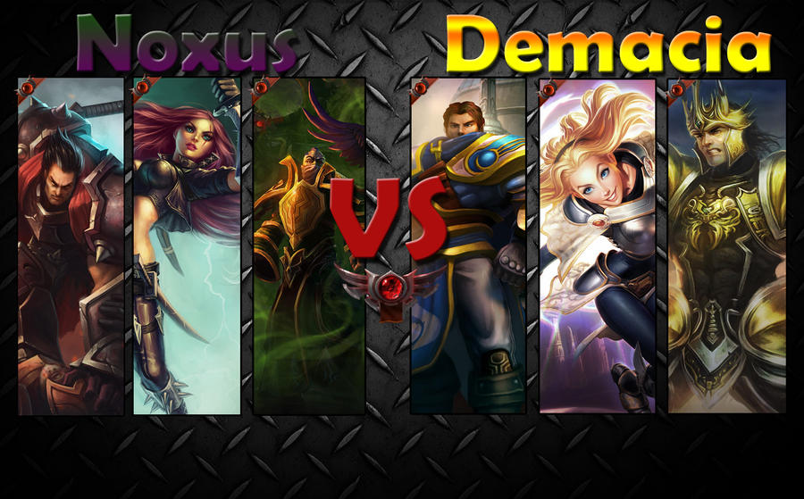 Noxus Vs Demacia by Siimediim