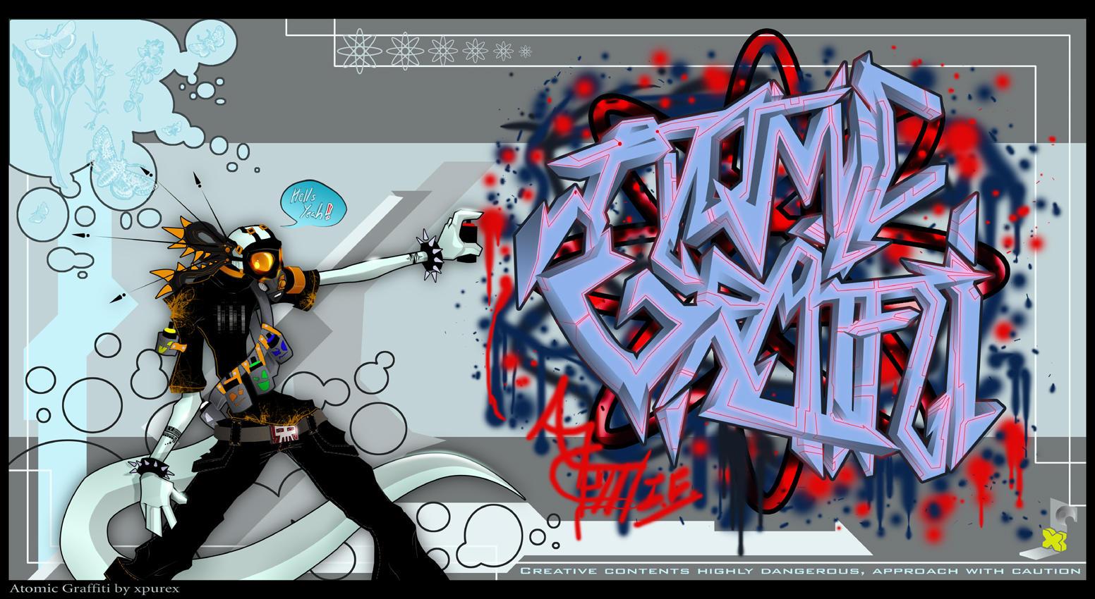 .Atomic.Graffiti. by Ever-Dream-Onward