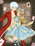 +Cris and Alan In Wonderland+