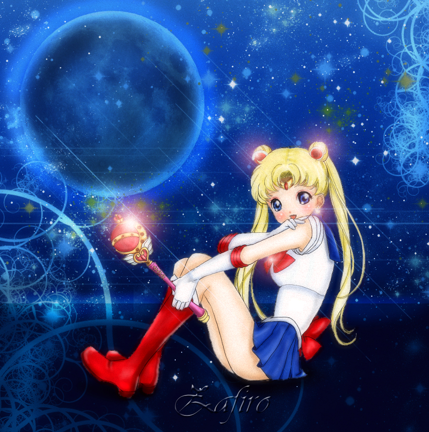 .:Forever Sailor Moon:. by Zafiro-Chan