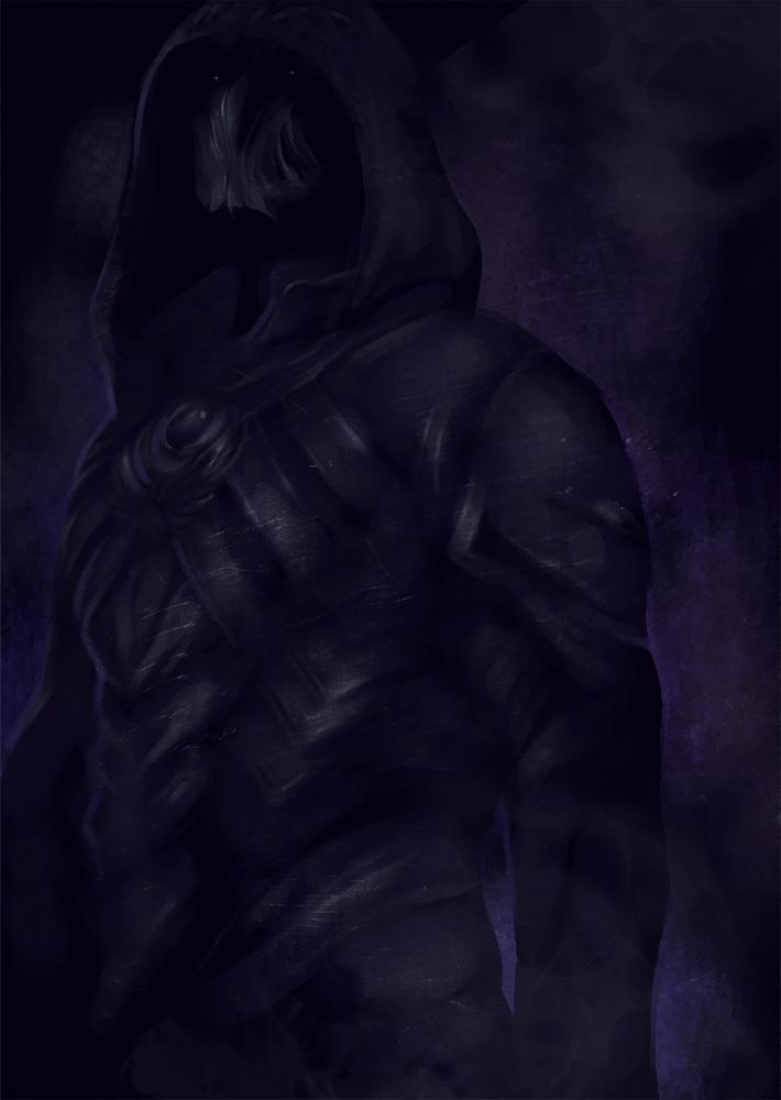 Skyrim - I am a shadow by Anivel