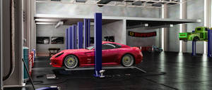 Garage: 3d Modeling Studio Final project by bewsii