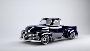 52 Chevy truck 3d model