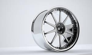 Volk Wheel 3d render