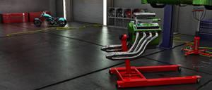 Garage: 3d Modeling Studio project - FINAL 1