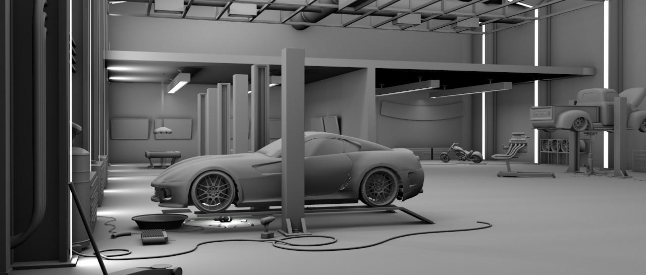 Garage: 3d Modeling Studio project - FINAL 1 by bewsii on ...