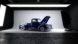 52 Chevy truck 3d render