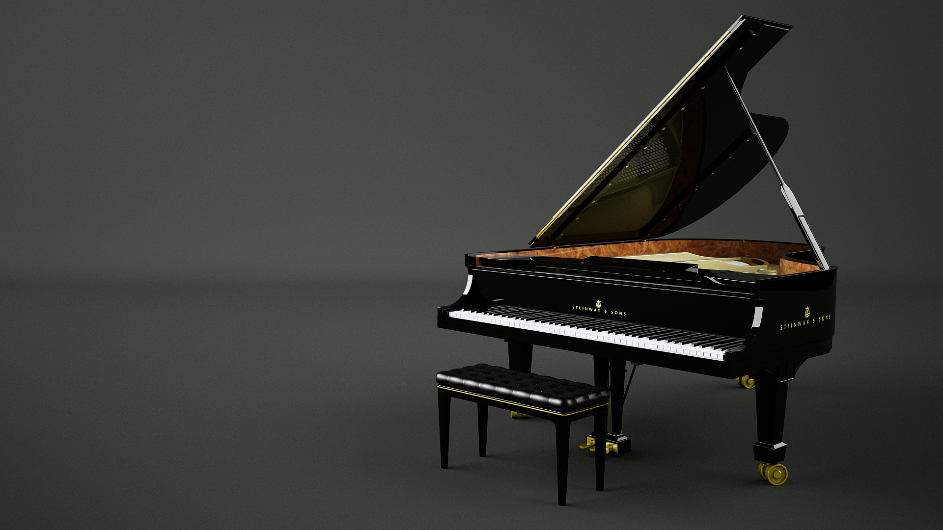 Steinway and Sons Grand Piano