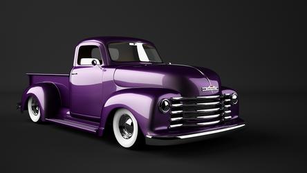 52 Chevy Custom by bewsii