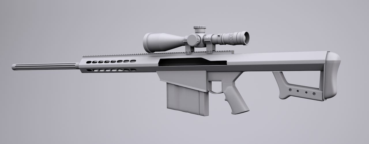 Barrett 50 cal sniper rifle by bewsii on deviantart - Barrett 50 wallpaper ...