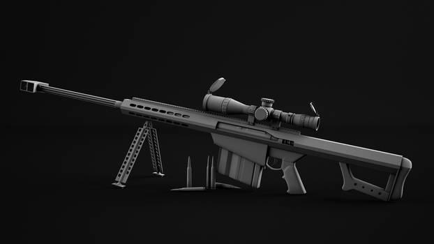 Barrett .50 Cal sniper rifle