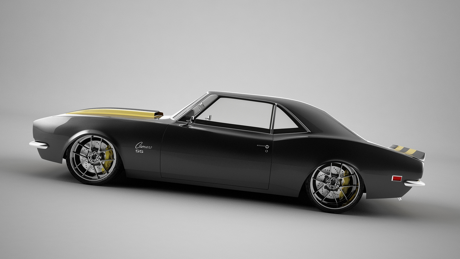 68 Camaro Wip By Bewsii On Deviantart