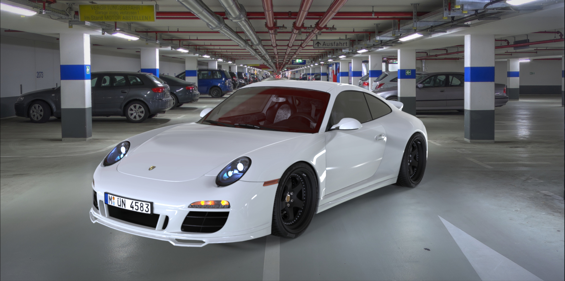 Porsche Garage.66 by bewsii