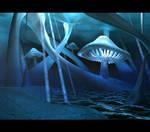 Underground Shrooms by purpleshroom